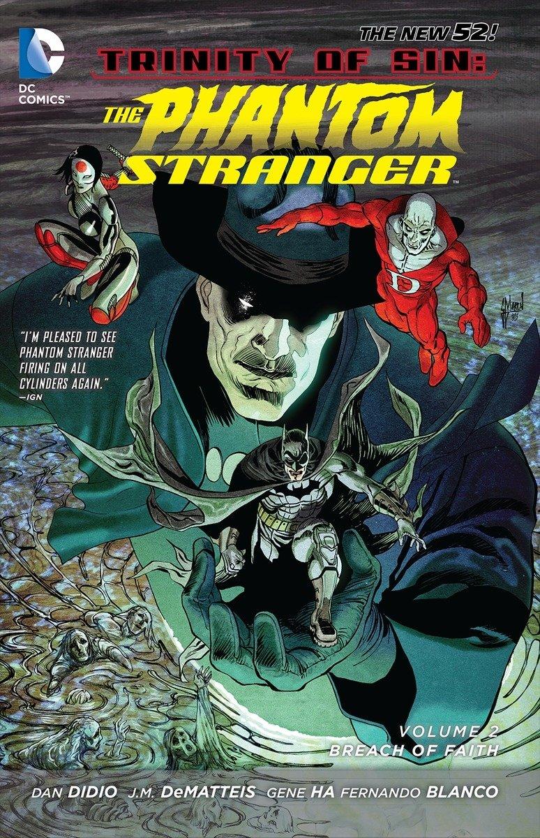 Trinity of Sin - The Phantom Stranger Vol. 2: Breach of Faith (The New 52) PDF