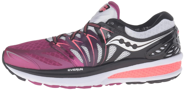Saucony Women's Hurricane ISO 2 Road Running US|Purple/Black/White Shoe B0158DX55U 5 B(M) US|Purple/Black/White Running aaa21c