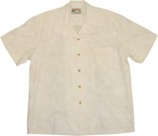 product image for Paradise Found Mens Midnight Garden Shirt White 6X
