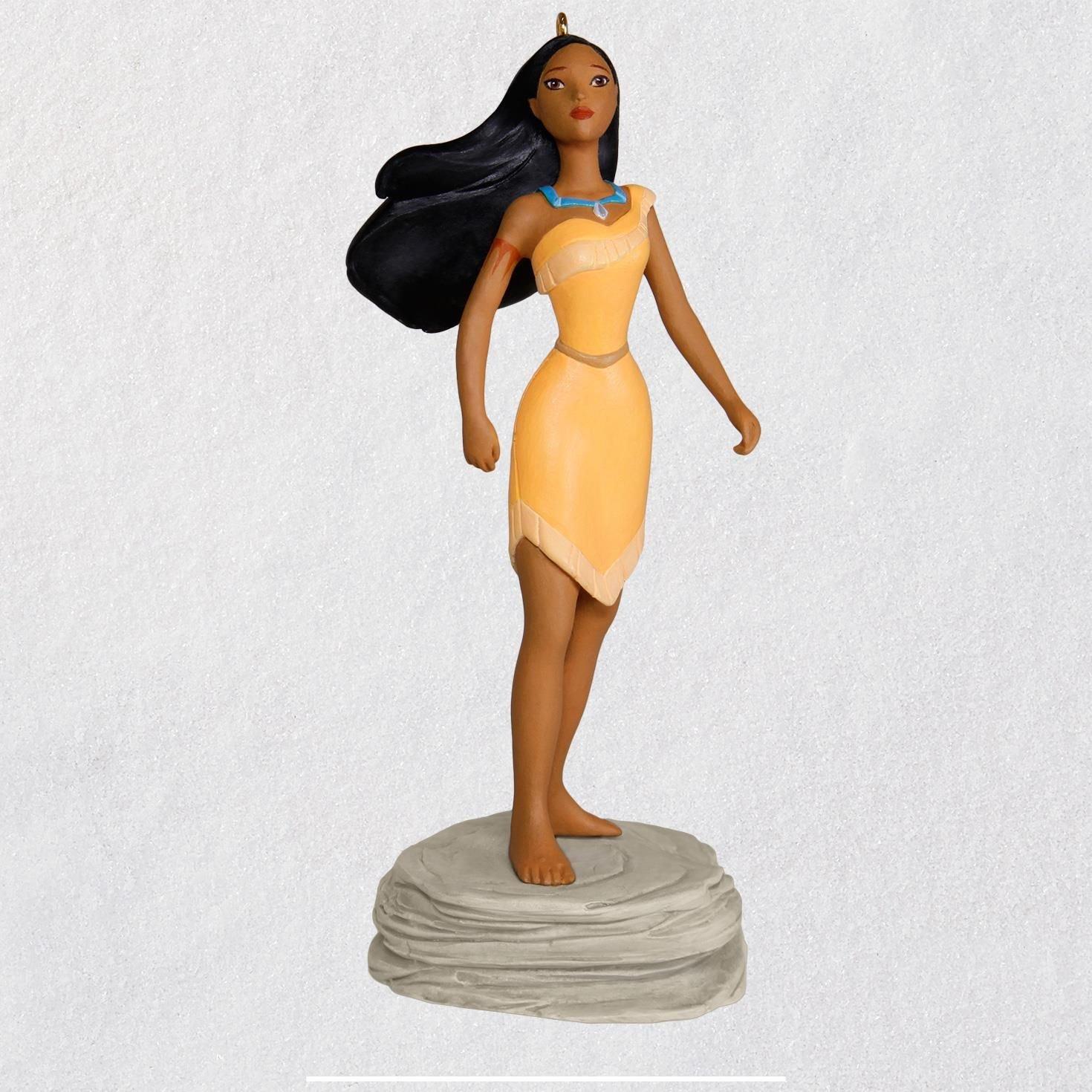 Hallmark Disney Pocahontas Colors of The Wind Musical Ornament Keepsake-Ornaments Movies & TV