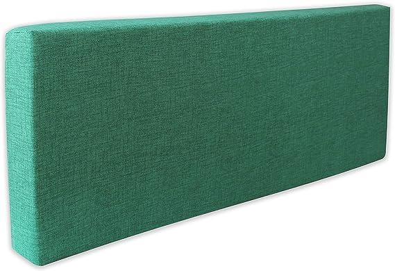 120 x 40 x 13-16 cm 4myBaby GmbH Best for Garden in Diversi Colori Cuscino per Panca per 2 Persone