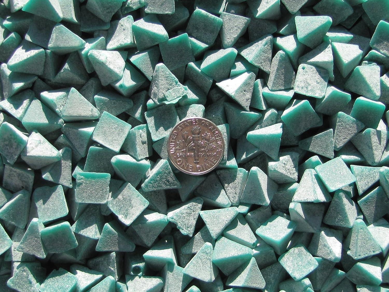 Pre-plate V 3//8 X 3//8 Pyramid Polishing Plastic Tumbling Tumbler Tumble Media 4 Lb
