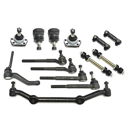 Amazon com: PartsW 14 Pc Suspension Kit for Chevrolet Blazer S10 GMC