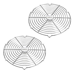 "Cuisinart CGR-822 Circular Wire Rack 12"", 2-Piece"