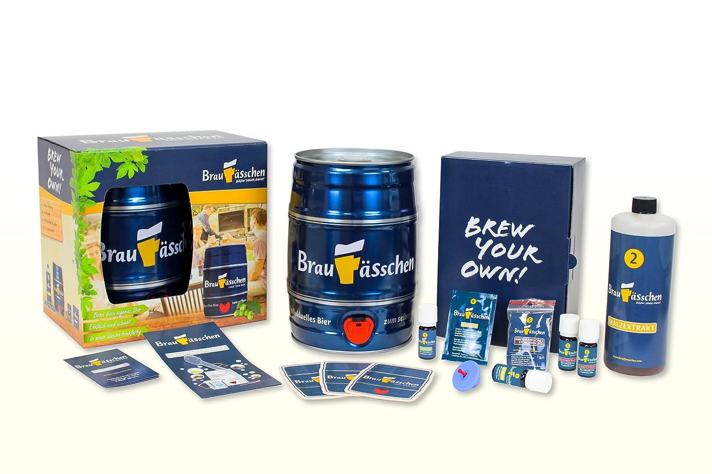Premium Bierbrauset zum selber Brauen – Unerreichte Geschmacksvielfalt – In 7 Tagen gebraut Customized Drinks GmbH