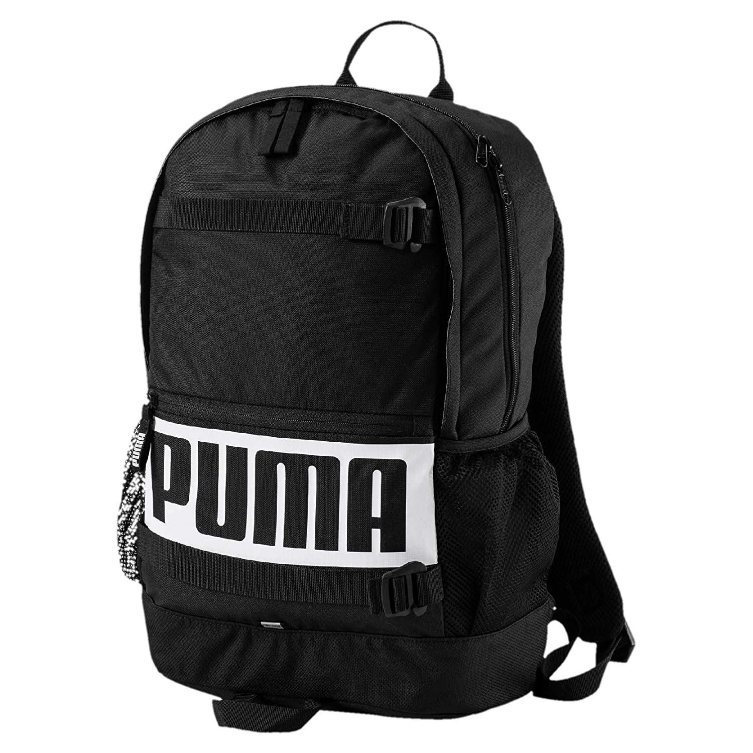 e25f2234fe Puma 24 Ltrs Black Laptop Backpack (7470601)  Amazon.in  Bags ...
