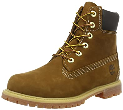 b04ec4a653 Timberland Damen 6 In Premium Waterproof (wide fit) Klassische Stiefel,  Braun (Rust