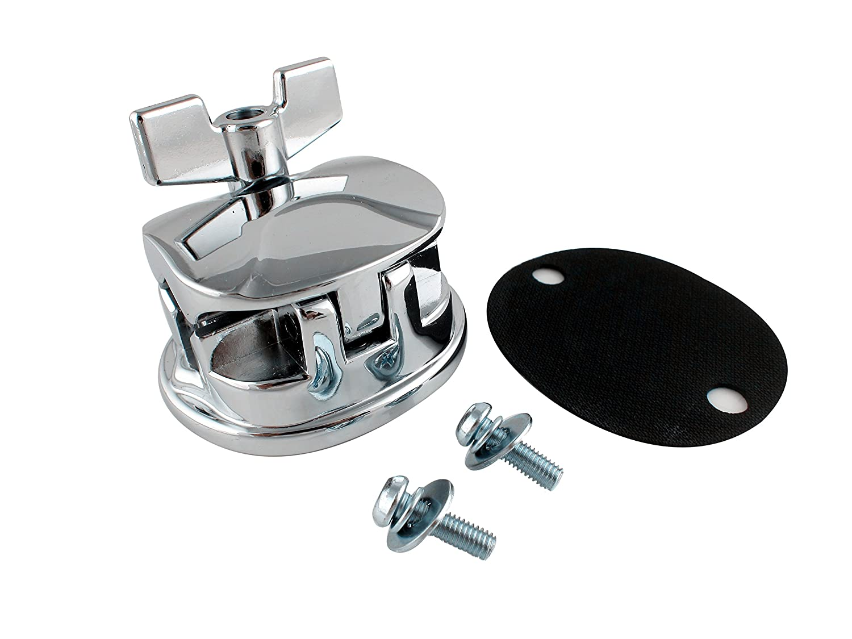 Goedrum Tom Drum Mount Bracket Floor Tom Leg Bracket with Screws for Drum Shell 10~15MM Goe-9565