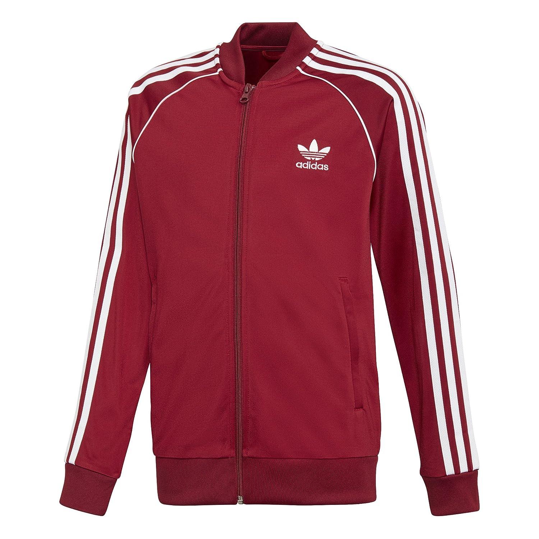 4656aeb14 adidas Kid's Originals Track Jacket Collegiate Burgundy dh2652