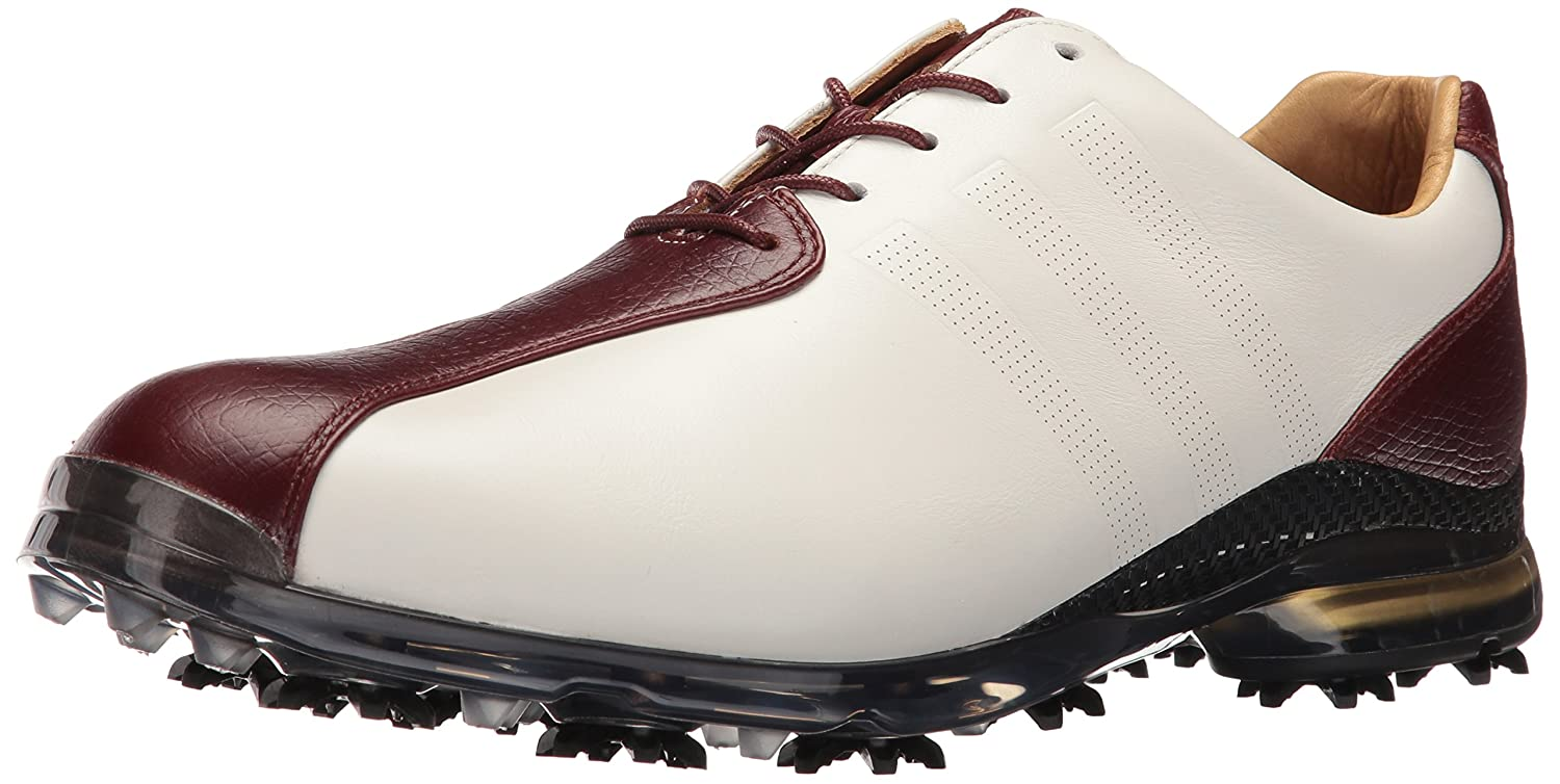 adidas Men's Adipure TP Golf Cleated B01IUFGS0M 7 D(M) US|White/Red Wood