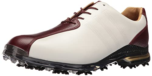 best service edfbb 4965c adidas Mens Adipure TP TouwhtRedSCO Golf Shoe, White, ...