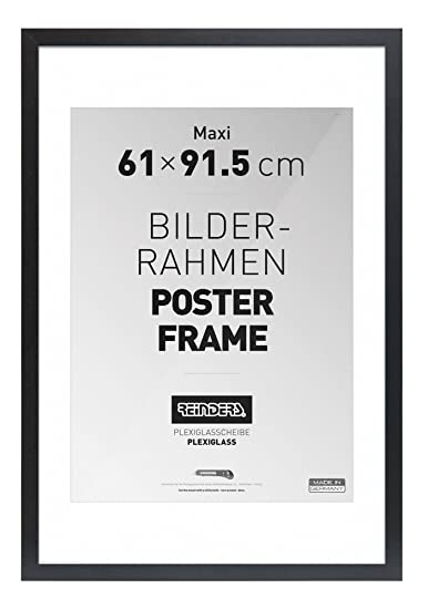 Reinders Posters BV - Cornice per poster maxi, 61 x 91,5 cm, vetro ...