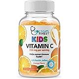 Doctors Finest Vitamin C Gummies for Kids – Vegan, GMO Free & Gluten Free – Great Tasting Orange Flavor Pectin Chews – Kids D