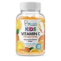 Doctors Finest Vitamin C Gummies for Kids – Vegan, GMO Free & Gluten Free – Great...