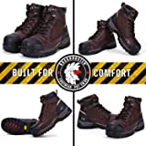 ROCKROOSTER Work Boots for Men, Composite