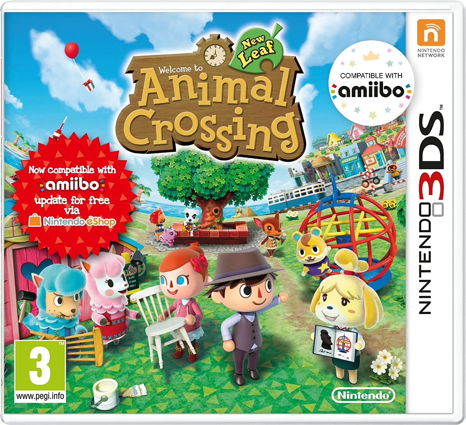 animal crossing new leaf welcome amiibo nintendo 3ds amazon