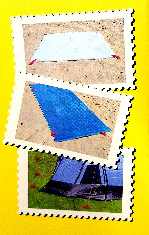 16 Black Duck Brand Set of 16 Multi Color Picnic//Beach Blanket Fastener Pegs