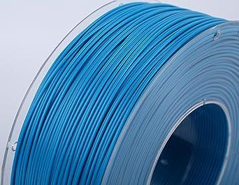 CriArt3D filamento de PLA 1.75 mm azul cielo para impresora 3D o ...