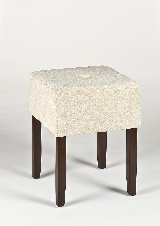 Beige Hillsdale Furniture 55240 Hillsdale Bellamy Backless Vanity Stool