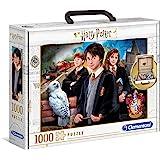 Clementoni 61882 Harry Potter 61882-Jigsaw Potter-1000 Piezas, Rompecabezas para Adultos, Multicolor