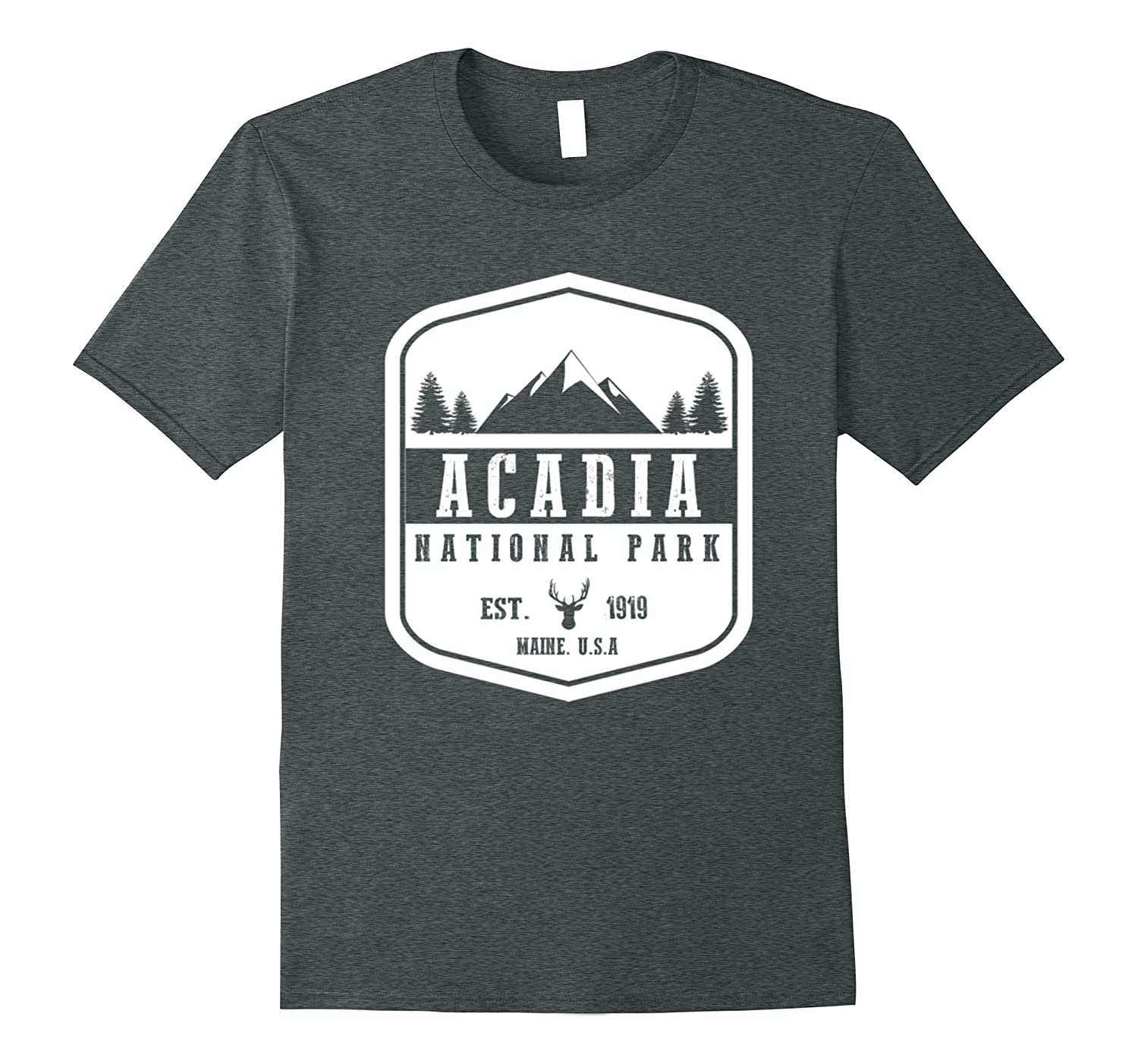 unisex child Acadia National Hiking Wanderlust-Newstyleth