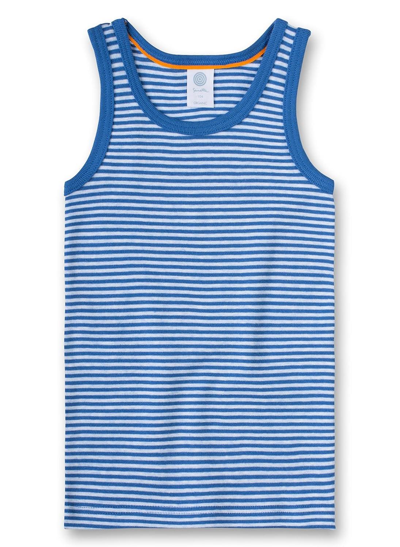 Sanetta Jungen Unterhemd Shirt W/O Sleeves Striped 334056.0