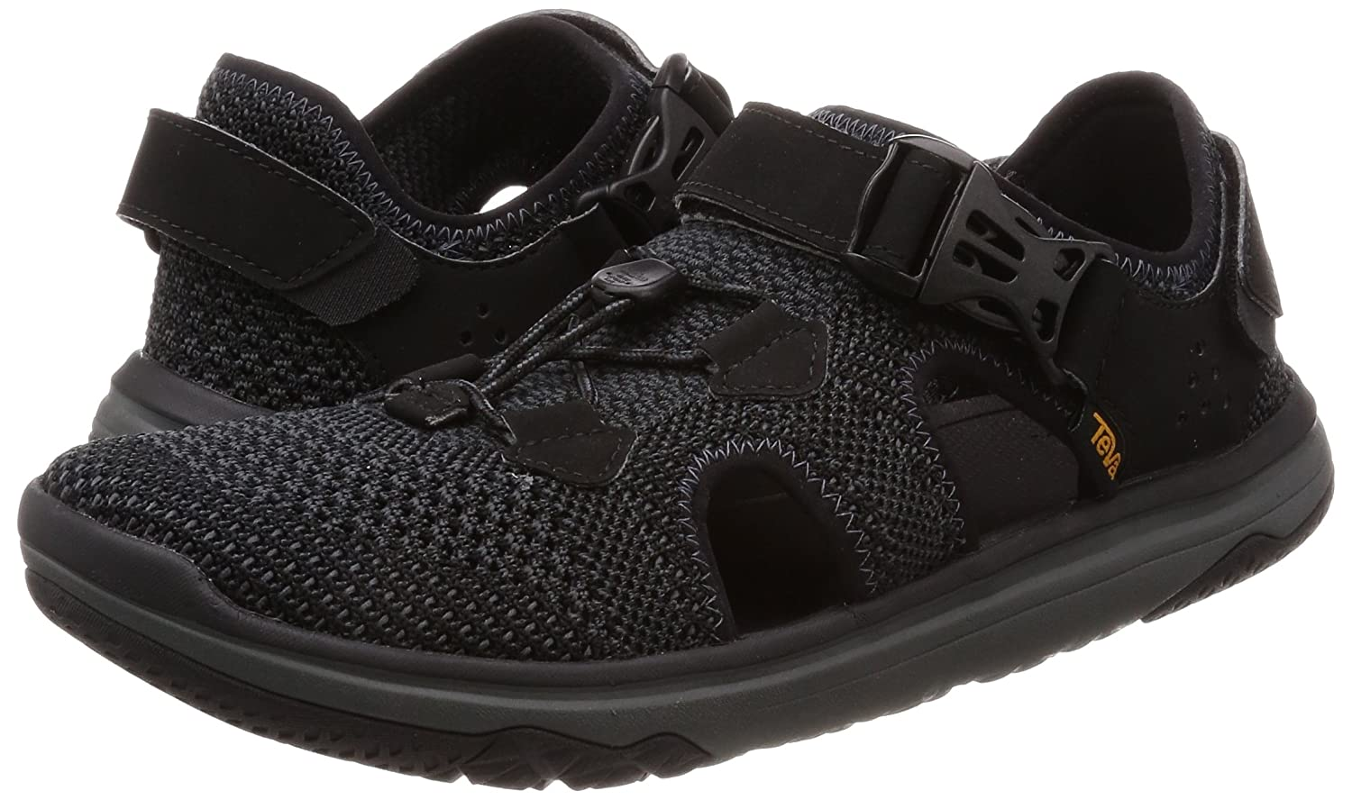 Teva - Men's Terra-Float Travel Knit - Black/Grey - 7 B0721X5MH1 10 D(M) US|Black/Grey