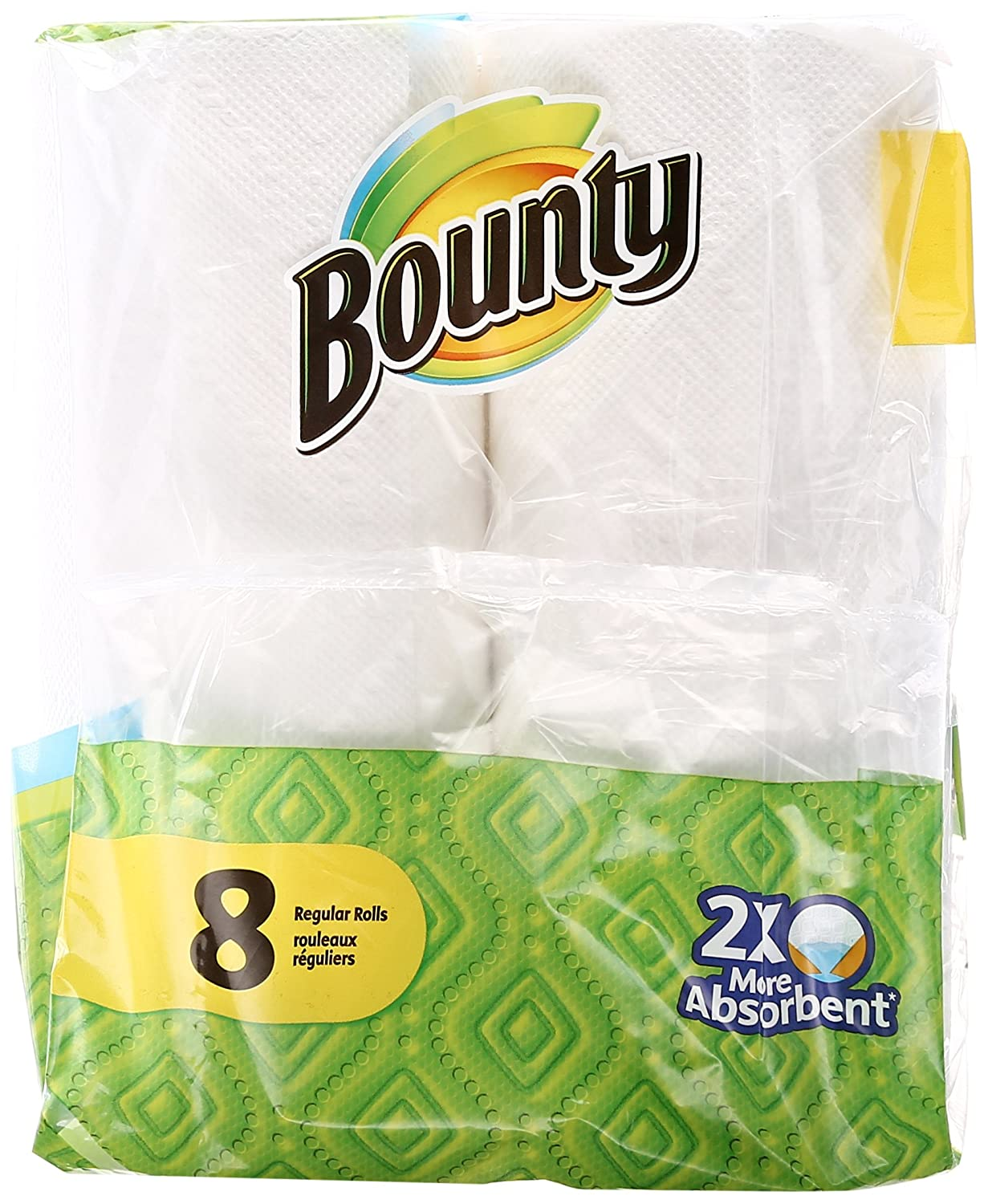 Amazon.com: Bounty 95029 White Bounty Paper Towels 8 Count: Home & Kitchen