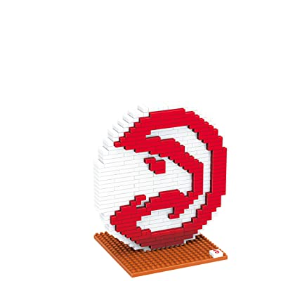 Atlanta Hawks 3D Brxlz - Logo: Sports & Outdoors