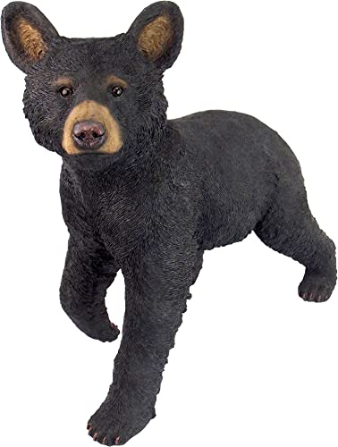 Design Toscano QM2830700 Snooping Cub Black Bear Statue