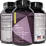 Pure MSM Supplement for Hair Skin Nails – Joint + Muscle Mobility Support – Boost Collagen Anti-Aging Skin Care and Thicker Hair – Digestive + Immune System Support for Women & Men
