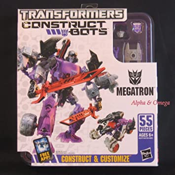 Charmant Transformers Construct Bots MEGATRON Action Figure Storage Case E1:05
