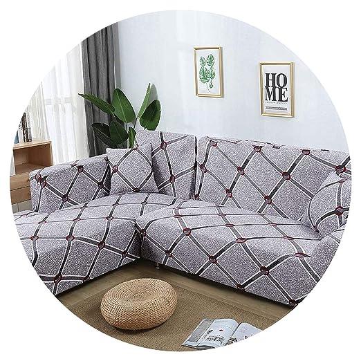 Dress-shop Sofa Cover Funda de sofá elástica en Forma de L ...