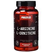 L-Arginine L-Ornithine 500 mg 60 Veg caps