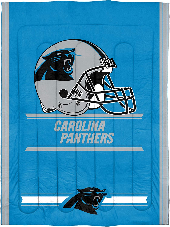 Multiple Sizes Officially Licensed NFL Safety Comforter and Sham Set Multi Color