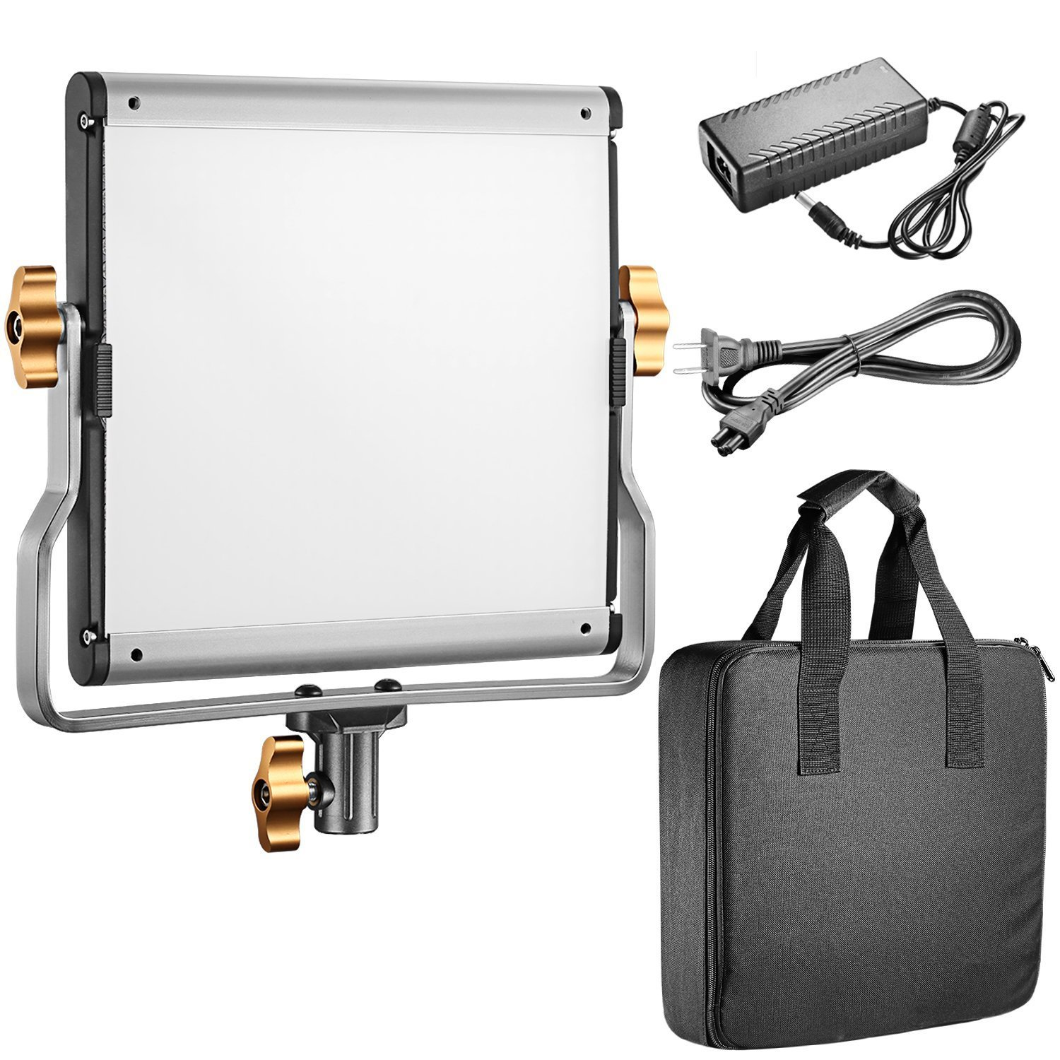 Neewer 480 LED Video Light and Stand Lighting Kit - Dimmable Bi-Color LED Panel with U Bracket (3200-5600K, CRI 96+) and 75-Inch Light Stand for Photo Studio Portrait, YouTube Video Photography by Neewer (Image #2)