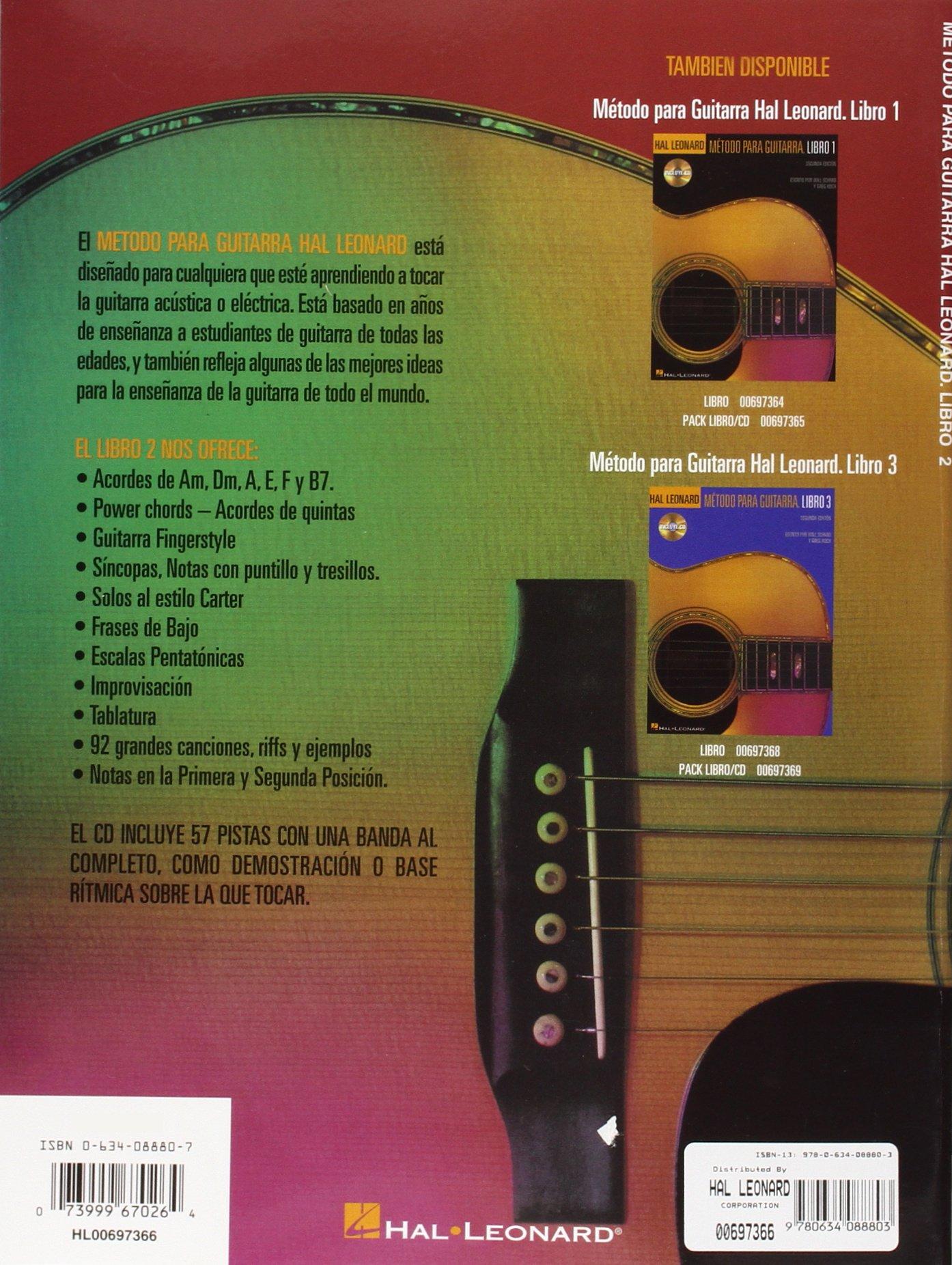 Hal Leonard Guitar Method Book 2: Spanish Language Book Only (Spanish Edition): Will Schmid, Greg Koch: 9780634088803: Amazon.com: Books