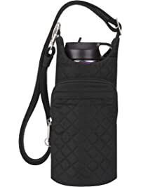 Travelon Anti-theft Boho Water Bottle Tote Sling Tote fcb7a7a5a5578
