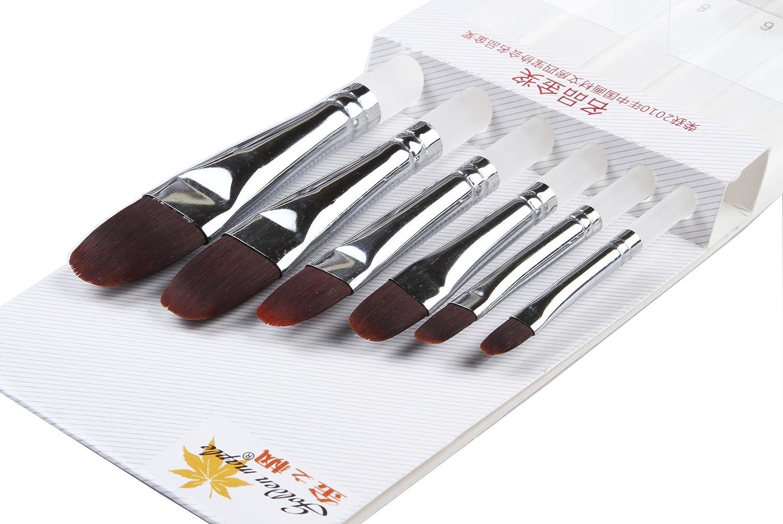 10 Pcs Best Professional Detail Paint Brush, les brosses à miniatures de haute qualité garderont un bon point et un ressort, pour l'aquarelle, l'huile, l'acrylique, les ongles et les modèles pour l'aquarelle l'huile l'acrylique NCFDBL