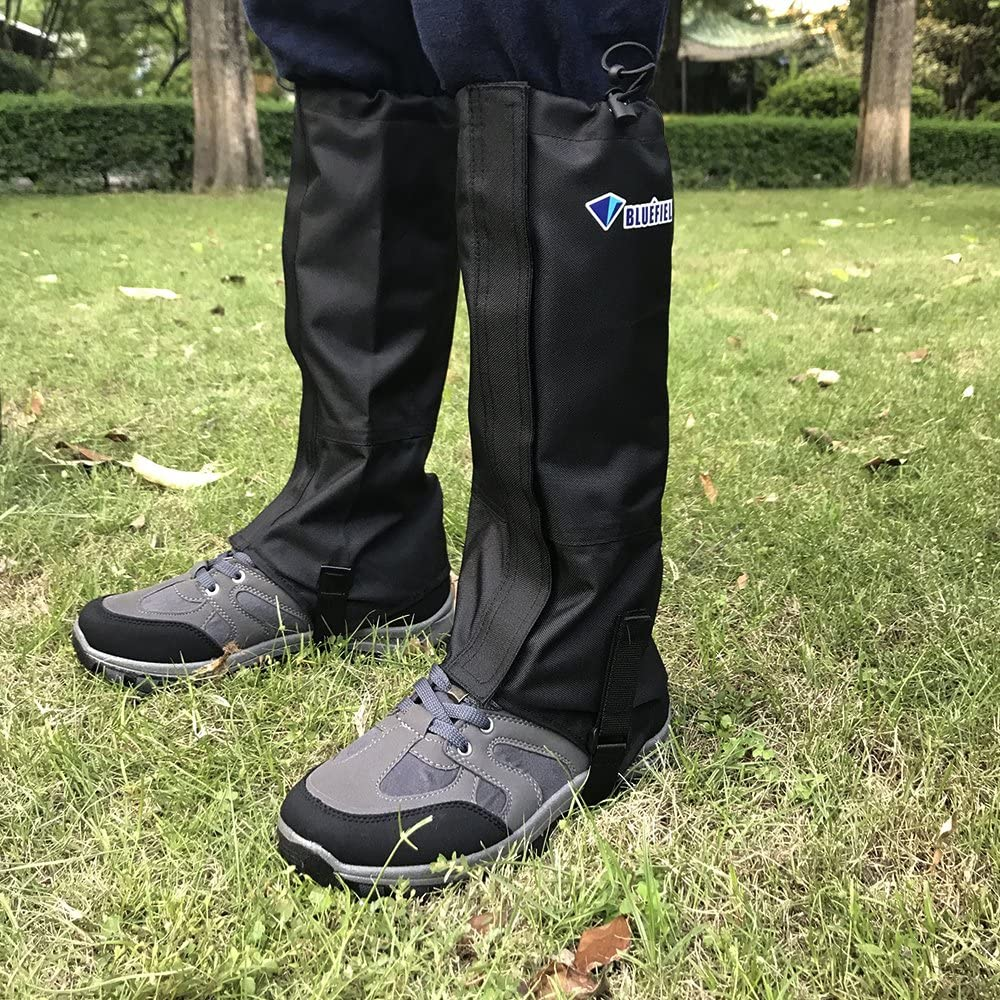 Outdoor Mountain Snow Leg Gaiters Windproof Waterproof Shoes Cover N6M5