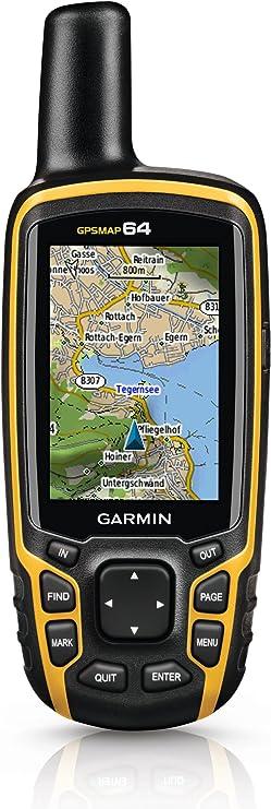 Garmin Map 64-Navigador GPS, Multicolor, Negro/Naranja: Amazon.es ...