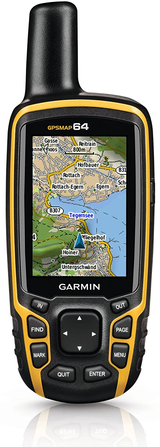 Garmin GPSMAP 64 Worldwide with High-Sensitivity GPS