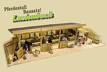 Pferdestall Selber Bauen Luisenbach Amazon De Spielzeug