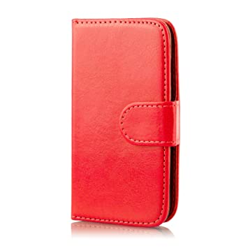 21e92103160 32nd Book Wallet PU Leather Flip Case Cover For Samsung: Amazon.co.uk:  Electronics
