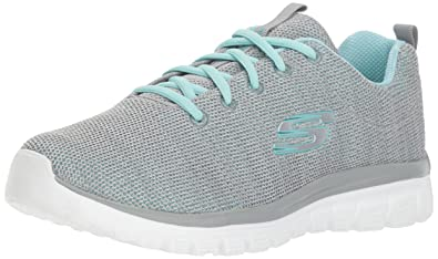 Image result for Skechers Womens Graceful - Twisted Fortune Fashion Sneakers
