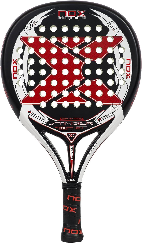 Amazon.com : NOX Stinger 2.1 Padel Tennis Racquet, Black ...