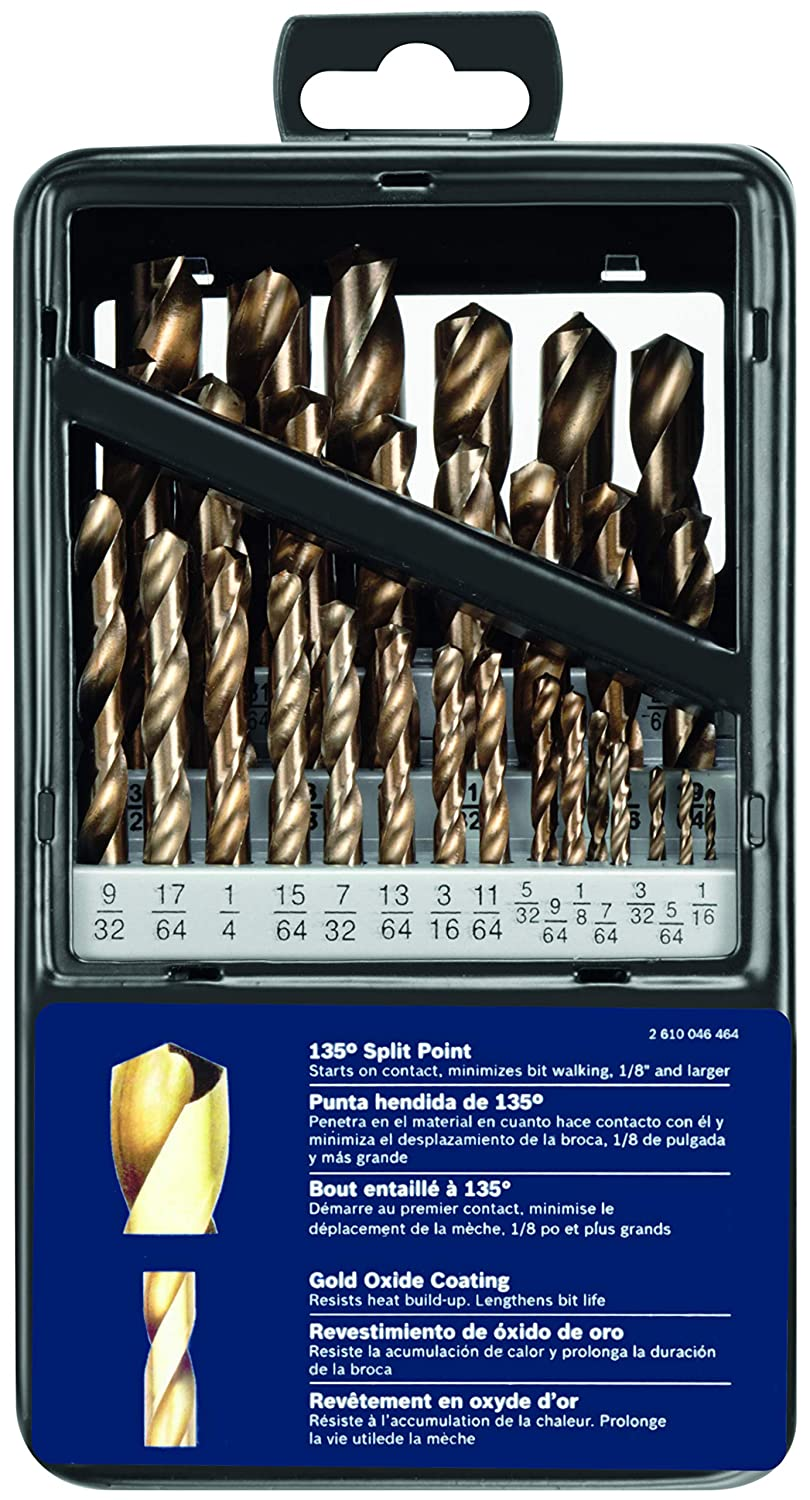 Gold Oxide Drill Bit Set Bosch GO29 29 Pc