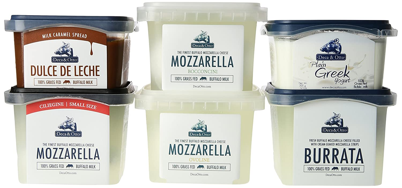 Burrata, Mozzarella (Small Size, Medium Size, Large Size), Greek Yogurt, Dulce de Leche: Amazon.com: Grocery & Gourmet Food