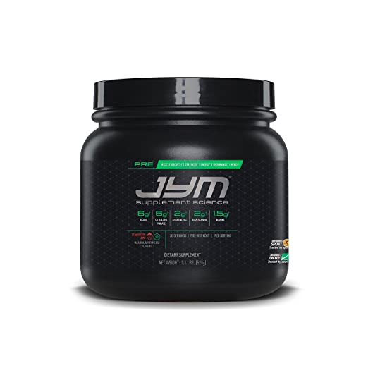 JYM Supplement Sciences' Pre Workout