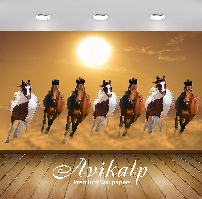 Avikalp Exclusive Awi3250 Seven Running Horses Vastu 7 Horses